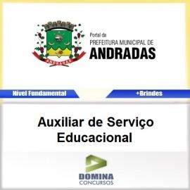 Apostila Andradas MG 2017 AUX de Serviço Educacional