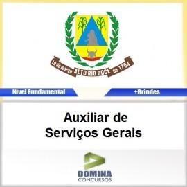 Apostila Alto Rio Doce 2017 Auxiliar de Serviços Gerais