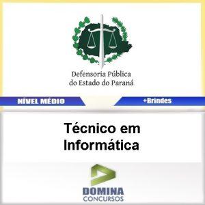 Apostila DPE PR 2017 Técnico em Informática