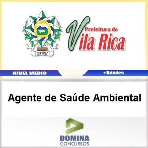 Apostila Vila Rica MT 2017 Agente de Saúde Ambiental