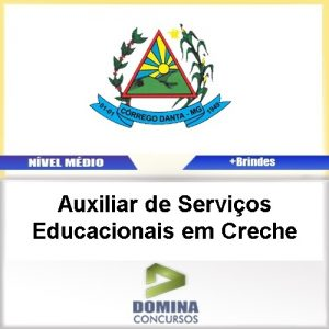 Apostila Córrego Danta MG AUX Serviços EDU Creche