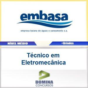 Apostila EMBASA 2017 Técnico em Eletromecânica
