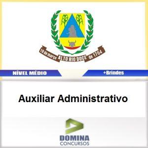 Apostila Alto Rio Doce 2017 Auxiliar Administrativo