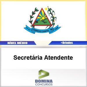 Apostila Córrego Danta MG 2017 Secretária Atendente