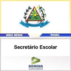 Apostila Córrego Danta MG 2017 Secretário Escolar