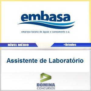 Apostila EMBASA 2017 Assistente de Laboratório