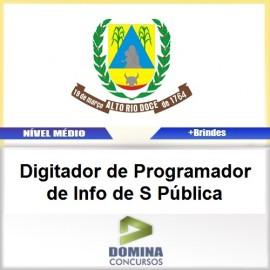 Apostila Alto Rio Doce 2017 Digitador Saúde Pública
