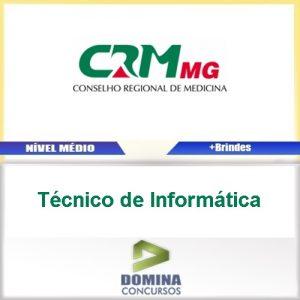 Apostila CRM MG 2017 Técnico de Informática
