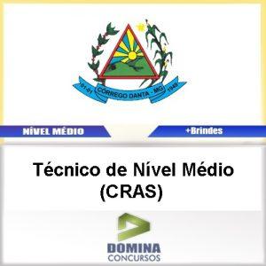 Apostila Córrego Danta MG 2017 Téc Nível Médio CRAS