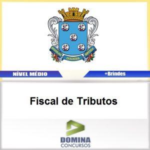 Apostila Diamantina MG 2017 Fiscal de Tributos