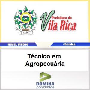 Apostila Vila Rica MT 2017 Técnico em Agropecuária