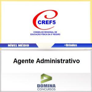 Apostila Concurso CREF 5 2017 Agente Administrativo