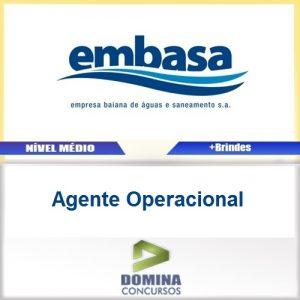 Apostila Concurso EMBASA 2017 Agente Operacional