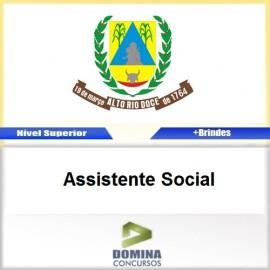 Apostila Concurso Alto Rio Doce 2017 Assistente Social