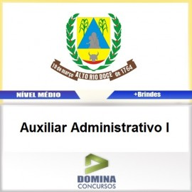 Apostila Alto Rio Doce 2017 Auxiliar Administrativo I