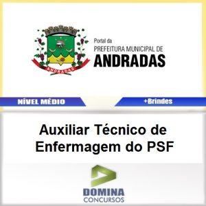 Apostila Andradas MG 2017 AUX TEC de Enfermagem
