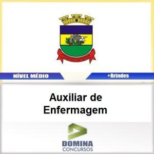 Apostila Braço do Norte SC 2017 Auxiliar de Enfermagem