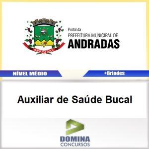 Apostila Andradas MG 2017 Auxiliar de Saúde Bucal