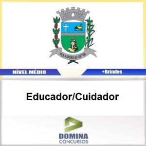 Apostila Cajuru SP 2017 Educador Cuidador