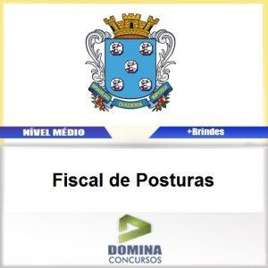 Apostila Diamantina MG 2017 Fiscal de Posturas