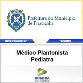 Apostila Piracicaba SP 2017 Médico Plantonista Pediatra
