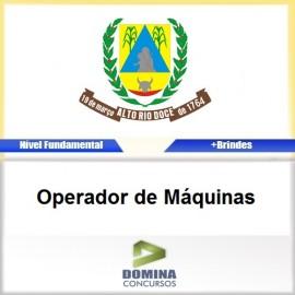 Apostila Alto Rio Doce 2017 Operador de Máquinas