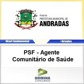 Apostila Andradas MG 2017 Agente Comunitário de Saúde