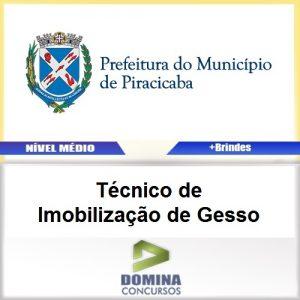 Apostila Piracicaba SP 2017 TEC Imobilização de Gesso