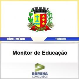 Apostila Rincão SP 2017 Monitor de Educação PDF