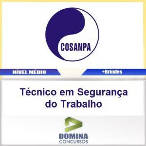 Apostila COSANPA 2017 Técnico Segurança do Trabalho