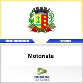 Apostila Rincão SP 2017 Motorista Download PDF