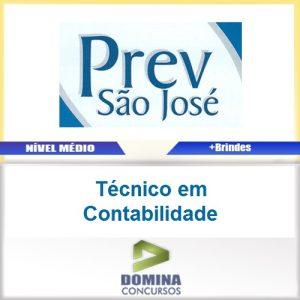 Apostila PREV São José 2017 Técnico em Contabilidade