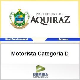 Apostila Aquiraz CE 2017 Motorista Categoria D