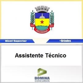 Apostila Apucarana PR 2017 Assistente Técnico