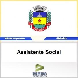 Apostila Apucarana PR 2017 Assistente Social