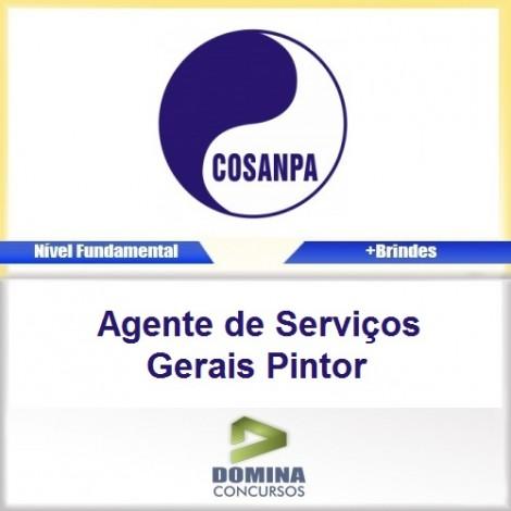 Apostila COSANPA 2017 Agente de Serviços Pintor