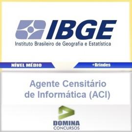 Apostila IBGE 2017 Agente Censitário de Informática ACI