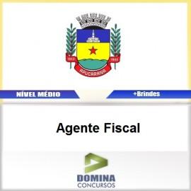 Apostila Apucarana PR 2017 Agente Fiscal