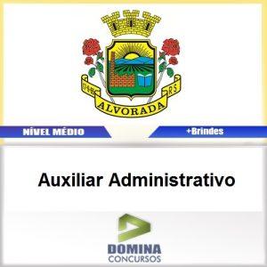 Apostila Alvorada RS 2017 Auxiliar Administrativo