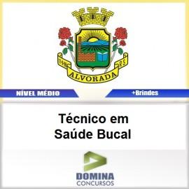Apostila Alvorada RS 2017 Técnico em Saúde Bucal