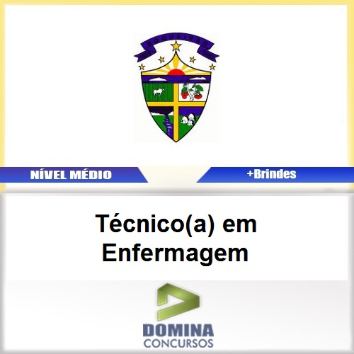 Apostila Boqueirão PB 2017 Técnico em Enfermagem