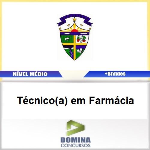 Apostila Boqueirão PB 2017 Técnico em Farmácia
