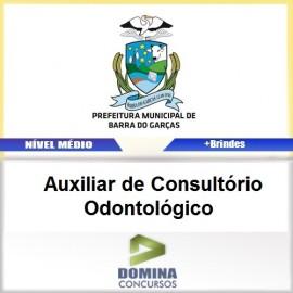 Apostila Barra do Garças 2017 AUX Odontológico