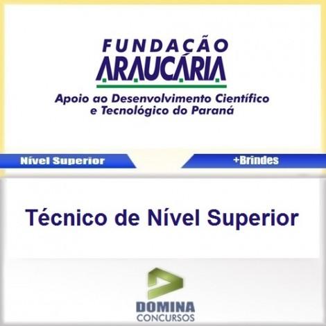 Apostila Fundação Araucária PR TEC de Nível Superior