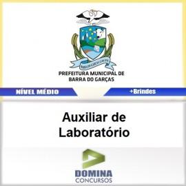 Apostila Barra do Garças 2017 Auxiliar de Laboratório