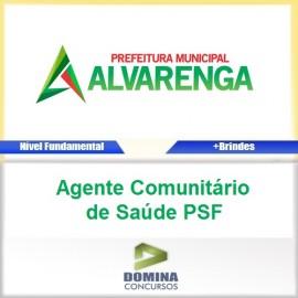 Apostila Alvarenga MG 2017 AGT Comunitário Saúde PSF