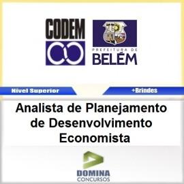 Apostila CODEM 2017 Analista de DESENV Economista