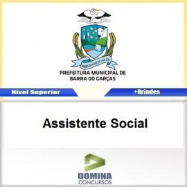 Apostila Barra do Garças 2017 Assistente Social