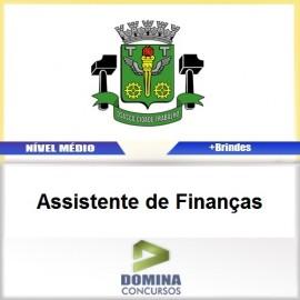 Apostila Osasco SP 2017 Assistente de Finanças PDF