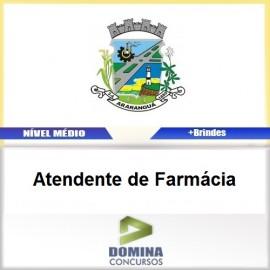 Apostila Araranguá SC 2017 Atendente de Farmácia